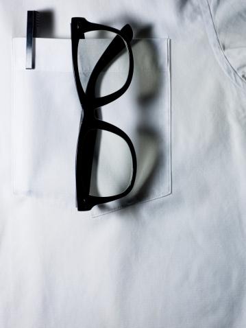 Horn Rimmed Glasses「Glasses and pen in white shirt pocket.」:スマホ壁紙(16)