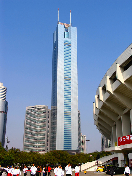 Mid Adult Men「CITIC Mansion in Guangzhou city, Guangdong province, China, 2004.」:写真・画像(5)[壁紙.com]