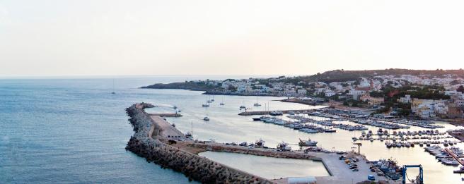 海「Santa Maria di Leuca, harbour view」:スマホ壁紙(13)
