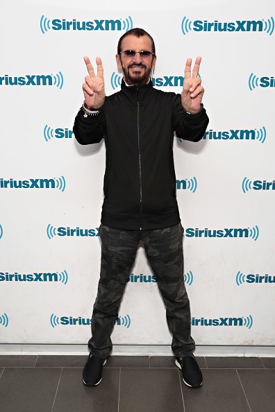 リンゴ・スター「SiriusXM's Town Hall With Ringo Starr Hosted By Whoopi Goldberg」:写真・画像(5)[壁紙.com]