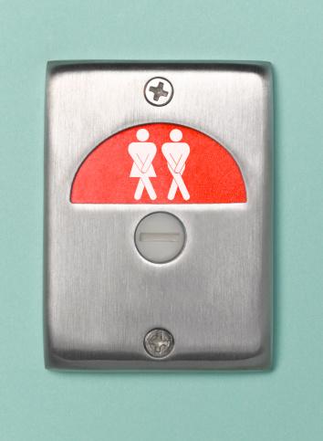 Male Likeness「Desperate toilet door sign engaged」:スマホ壁紙(14)