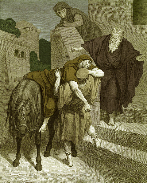 New Testament「The Good Samaritan arrives at the inn」:写真・画像(3)[壁紙.com]