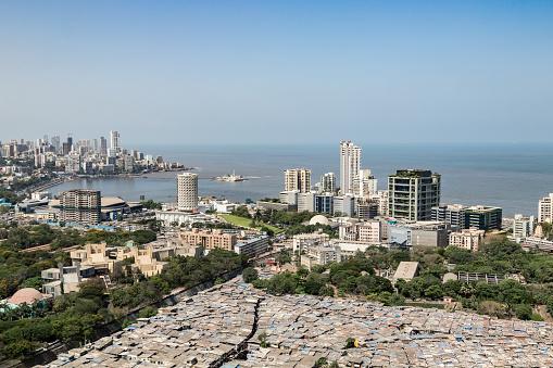 Housing Project「Rooftop Image of Slums, Buildings and Neighboring Community - Mumbai, Maharashtra」:スマホ壁紙(16)