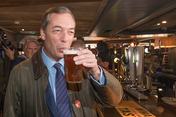 Drinking Glass「The DUP Joins Nigel Farage For Bournemouth Save Brexit Rally」:写真・画像(18)[壁紙.com]