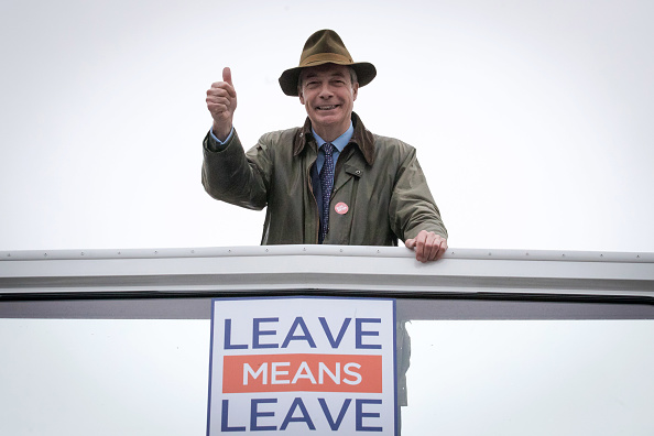 Political Party「The DUP Joins Nigel Farage For Bournemouth Save Brexit Rally」:写真・画像(14)[壁紙.com]
