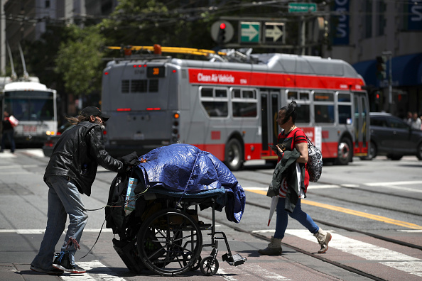 Homelessness「Number Of Homeless On San Francisco Streets Rises 17 Percent Over Last Two Years」:写真・画像(12)[壁紙.com]