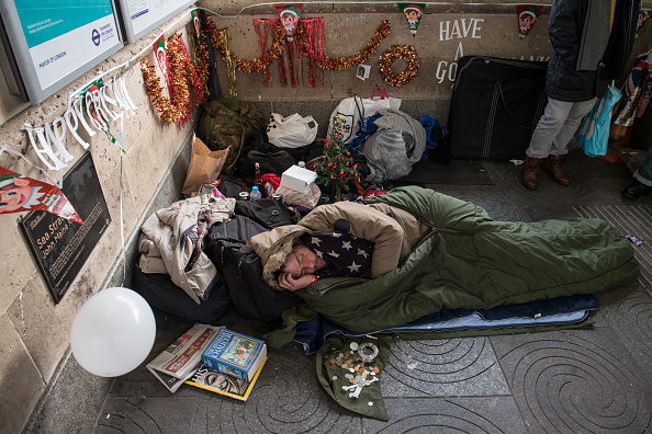City Of Westminster - London「Homeless Struggle During Christmas Cold Spell」:写真・画像(11)[壁紙.com]