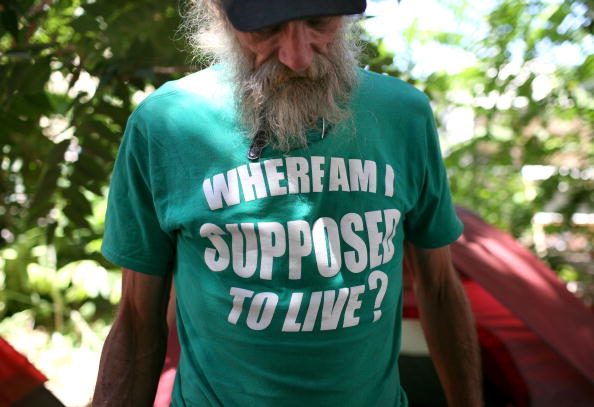 Homelessness「Homeless Struggle To Maintain New Encampment In Sacramento」:写真・画像(6)[壁紙.com]
