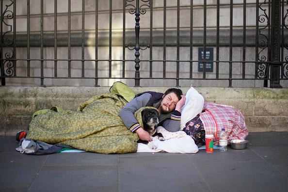 Homelessness「London Opens Emergency Shelters As Temps Drop」:写真・画像(8)[壁紙.com]