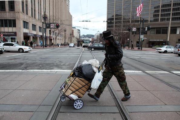 San Francisco - California「San Francisco Battles With Homelessness Problem」:写真・画像(12)[壁紙.com]