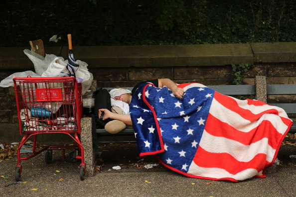 Poverty「Homelessness Reaches All-Time Record In New York City」:写真・画像(2)[壁紙.com]