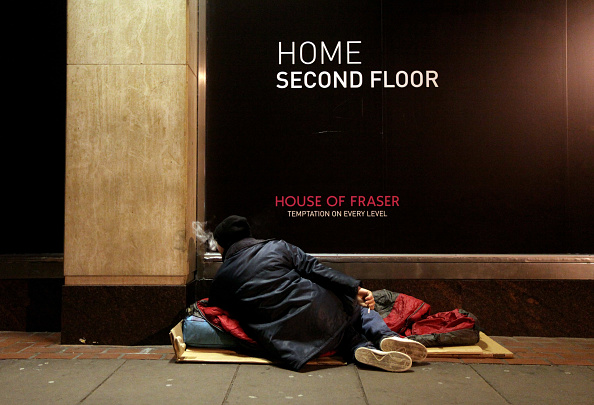Homelessness「The Simon Community Help The Homeless Through The Coldest Winter In Decades」:写真・画像(2)[壁紙.com]