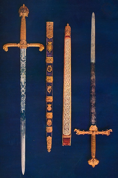 Ornate「The Lord Mayor's Sword of State and Pearl Sword, 1916.」:写真・画像(9)[壁紙.com]