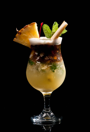 Mint Leaf - Culinary「Pineapple and coconut mojito」:スマホ壁紙(8)