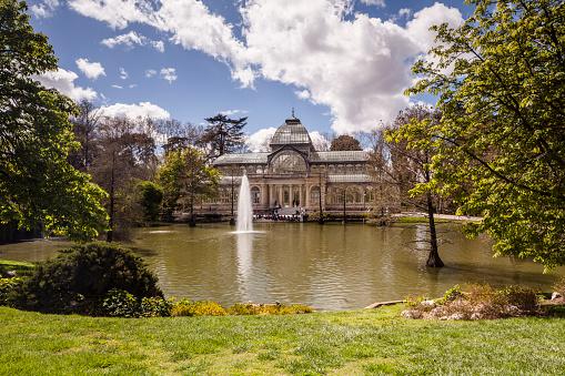 Madrid「Palacio de Cristal in Buen Retiro Park, Madrid.」:スマホ壁紙(17)
