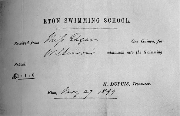 Receipt「'Receipt For Swimming Lessons', 1935」:写真・画像(16)[壁紙.com]