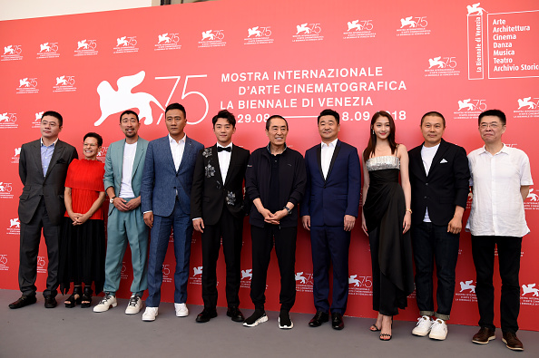 "Eamonn M「""Ying (Shadow)"" And 2018 Jaeger-LeCoultre Glory To The Filmaker Award to Zhang Yimou Photocall - 75th Venice Film Festival」:写真・画像(4)[壁紙.com]"