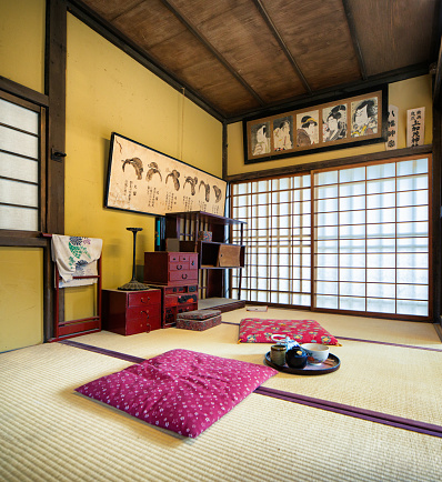 Kyoto City「Japanese Edo village hairstylist room movie set at Toei Studios Kyoto」:スマホ壁紙(19)