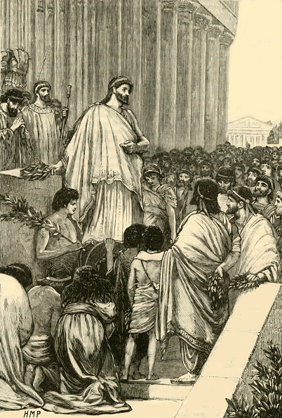 Crowd「Pericles Delivering The Funeral Oration Over The Athenians」:写真・画像(19)[壁紙.com]