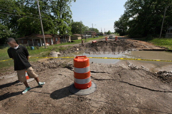 飽和色「Ohio And Mississippi Rivers Cause Severe Flooding」:写真・画像(3)[壁紙.com]