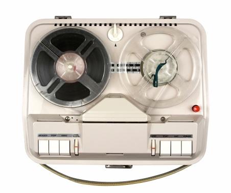 Push Button「Vintage Reel Tape Recorder」:スマホ壁紙(15)