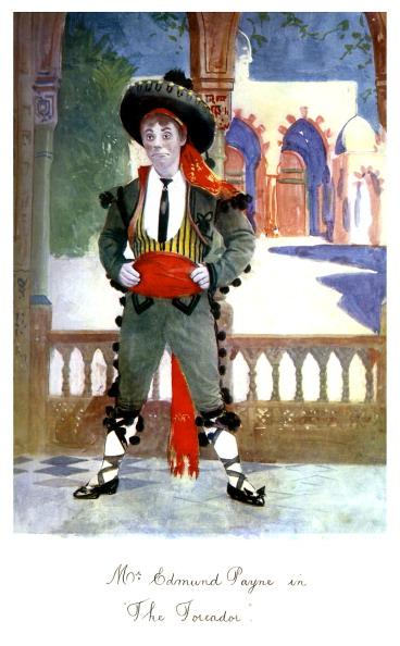 T 「Edmund Payne as Sammy Gigg in 'The Toreador'」:写真・画像(10)[壁紙.com]
