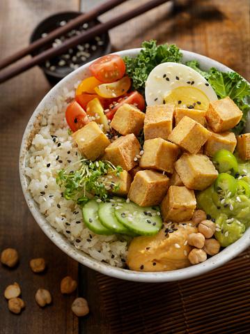 Bean Sprout「Grilled Tofu Buddha Bowl」:スマホ壁紙(0)