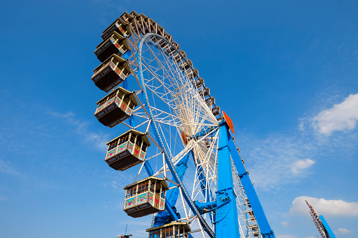 Ferris Wheel「Germany, Munich, ferris wheel at the Oktoberfest」:スマホ壁紙(19)