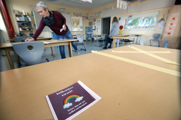 The Keeping Room「Schools Prepare To Reopen As Coronavirus Restrictions Ease」:写真・画像(19)[壁紙.com]