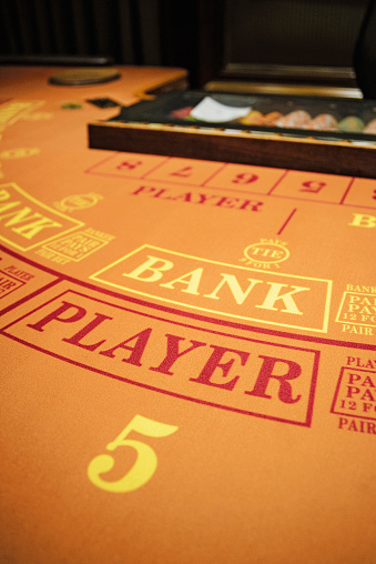 Work luck「Number 5 at baccarat table」:スマホ壁紙(7)