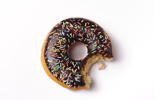 Unhealthy Eating「Bite out of doughnut」:スマホ壁紙(19)