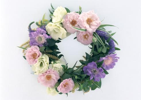 薔薇「Wreath」:スマホ壁紙(14)