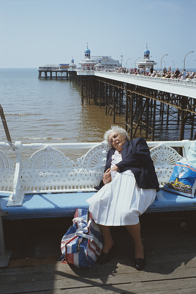 Deck Chair「Blackpool Beach And Pier」:写真・画像(19)[壁紙.com]
