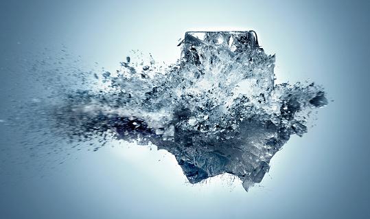 Vitality「Exploding Ice」:スマホ壁紙(7)