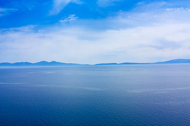 blue sky clouds and sea, outdoor photo beauty in nature:スマホ壁紙(壁紙.com)