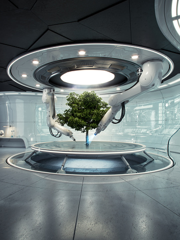 Deforestation「Futurelab Baum hoch」:スマホ壁紙(15)