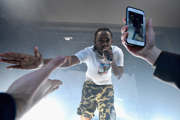 American Express「American Express Music Presents: Kendrick Lamar Live At Music Hall Of Williamsburg In Brooklyn, NY」:写真・画像(11)[壁紙.com]