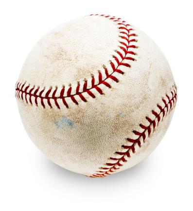 野球「本格的なベースボール(MLB 、クリッピングパス」:スマホ壁紙(2)