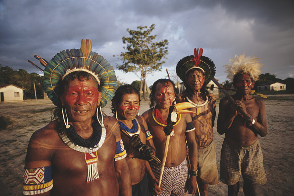 Indigenous Culture「Kayapo People」:写真・画像(5)[壁紙.com]