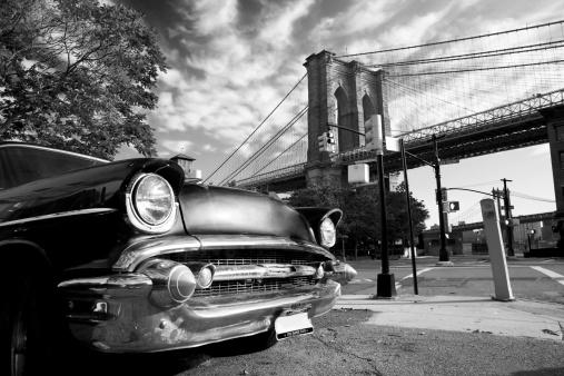 Restoring「Old New York and Brooklyn」:スマホ壁紙(1)