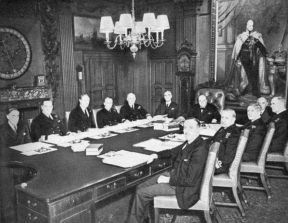 歴史「'The Board Of Admiralty In Session', 1939, (1955)」:写真・画像(9)[壁紙.com]