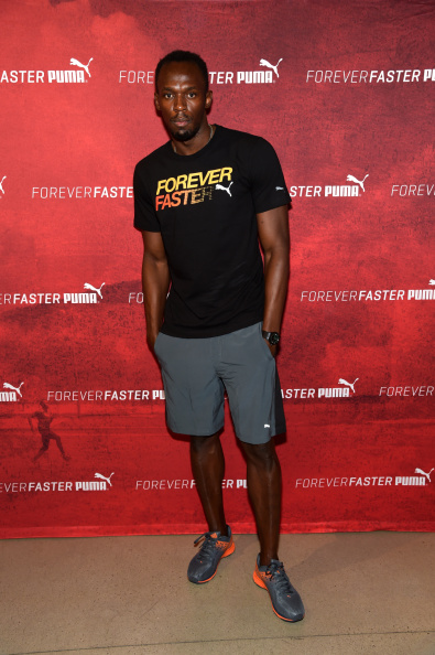 One Man Only「Usain Bolt Attends The PUMA Store In Soho Training Event」:写真・画像(10)[壁紙.com]