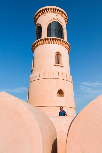 One Person「Al Ayjah lighthouse, Sur, Oman」:スマホ壁紙(5)