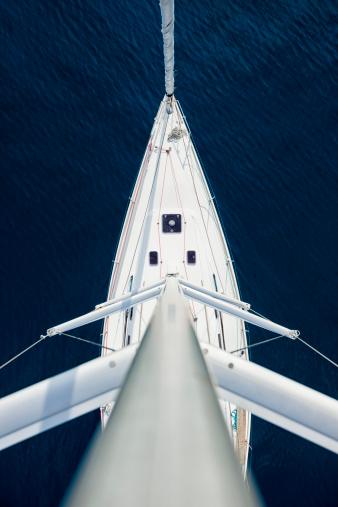 最上部「ヨットの上からの眺め」:スマホ壁紙(7)