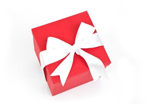 プレゼント「赤いギフトボックス」:スマホ壁紙(19)