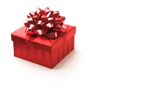 プレゼント「の赤いギフトボックスに揃いの光輝くリボン」:スマホ壁紙(3)