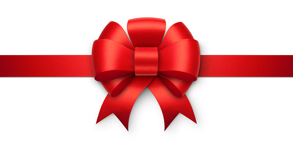 Silk「Red gift bow」:スマホ壁紙(11)