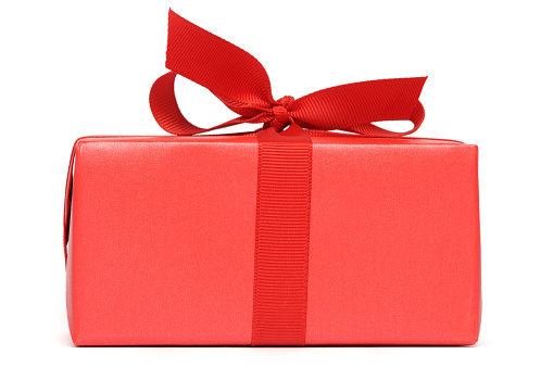 Gift「A red gift box with red ribbon」:スマホ壁紙(18)