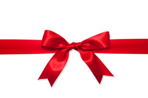 プレゼント「赤いギフトリボン」:スマホ壁紙(11)