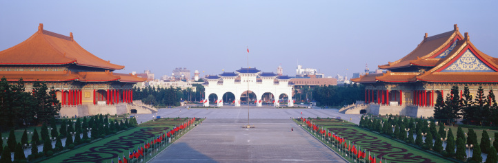 Town Square「Taiwan, Chang Kai-Shek Memorial, National Theater and Concert Hall」:スマホ壁紙(4)